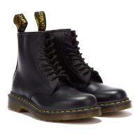 Dott. martens anfibio icon colore nero per scarpe